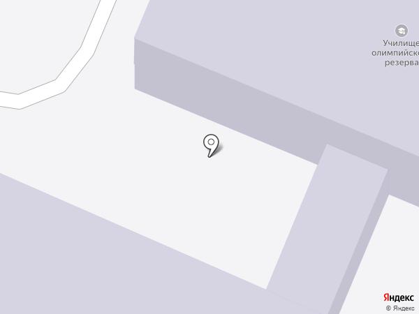 Новочебоксарское училище олимпийского резерва на карте Новочебоксарска
