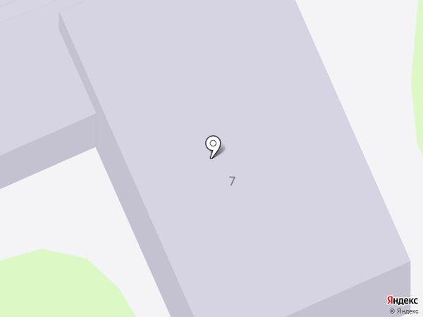 Детский сад №4 на карте Новочебоксарска