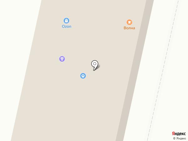 Ангел на карте Новочебоксарска