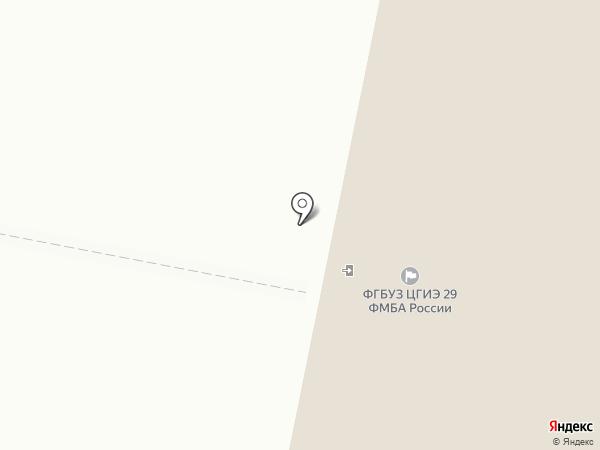 Центр гигиены и эпидемиологии №29 ФМБА, ФГБУ на карте Новочебоксарска