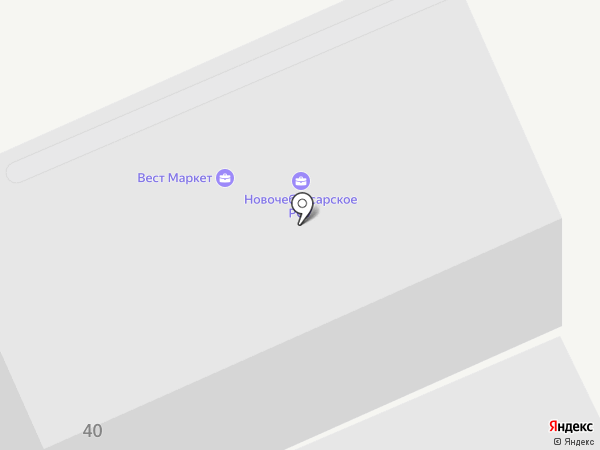 Авангард-Древ на карте Новочебоксарска