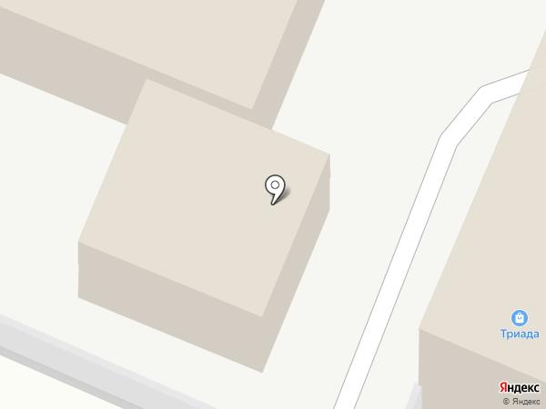 Мегалит на карте Медведево