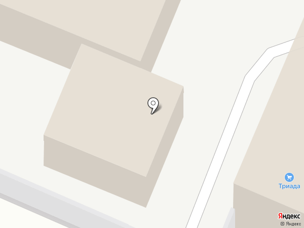 Полидрев на карте Медведево