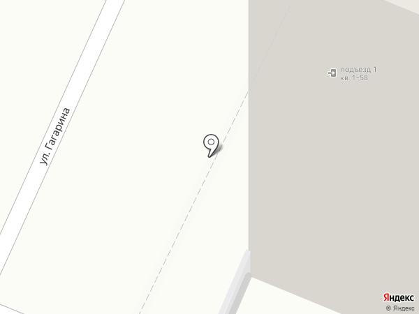 Автостоянка на карте Медведево