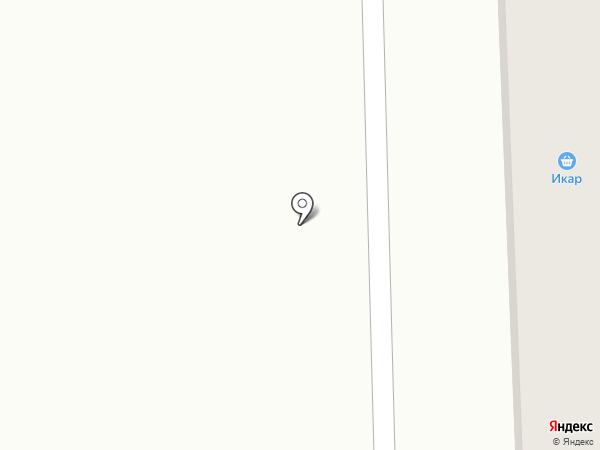 Икар на карте Медведево
