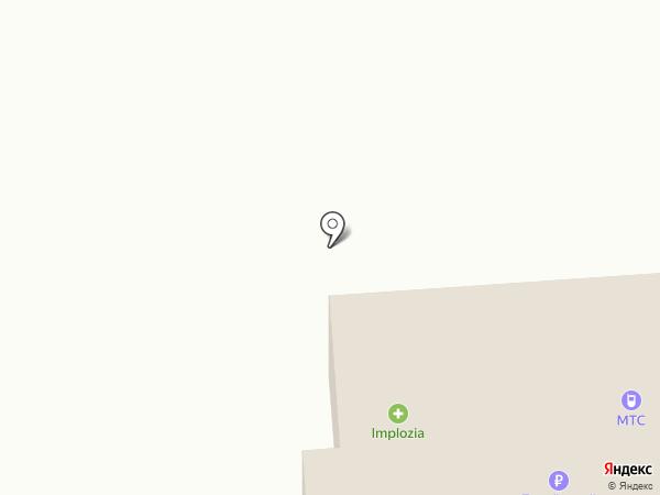 Бристоль на карте Медведево