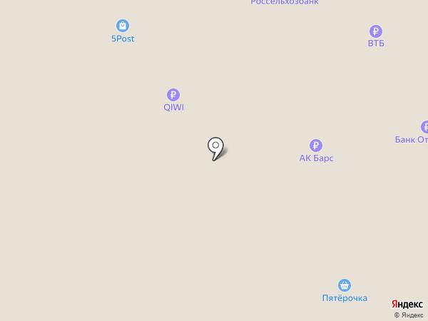 Копеечка на карте Медведево