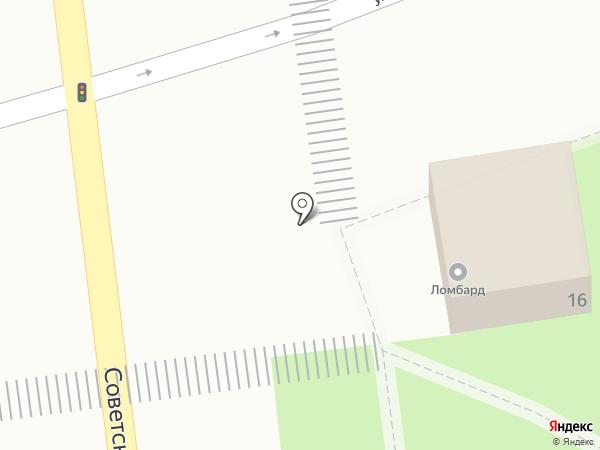 Ломбард на карте Медведево