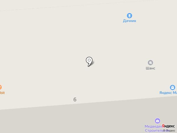 Бюро путешествий на карте Медведево