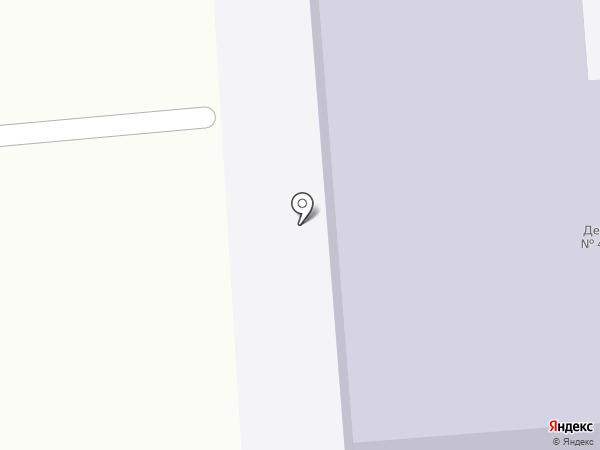 Медведевский детский сад №4 на карте Медведево