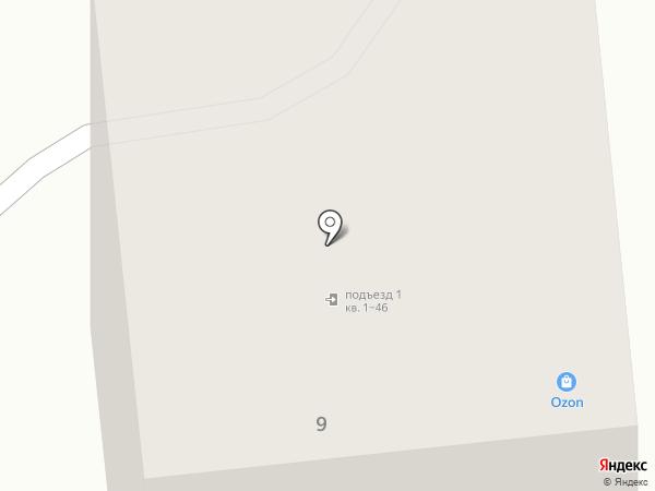 Магазин разливных напитков на карте Медведево