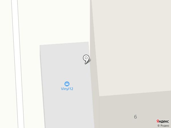Ульяна на карте Медведево
