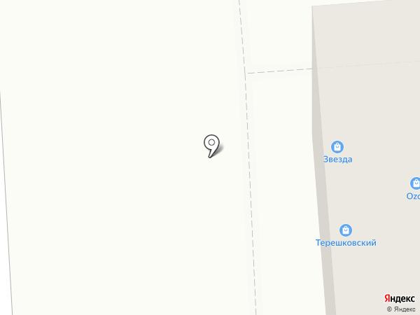Звезда на карте Медведево