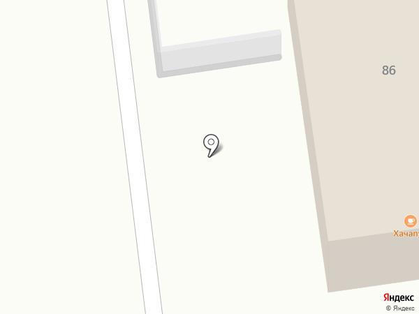 Автомойка на ул. Медведево на карте Медведево