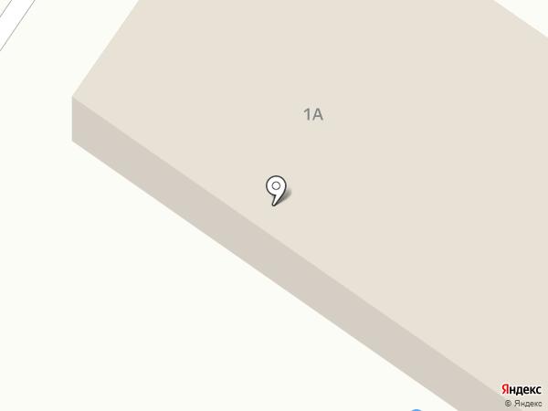 Сеть продуктовых магазинов на карте Нового