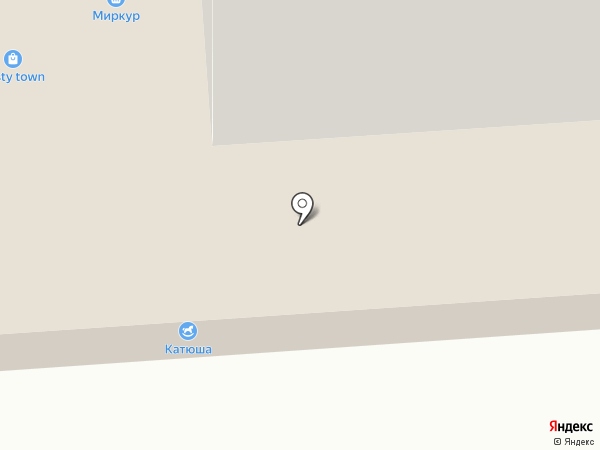 Тонус на карте Йошкар-Олы