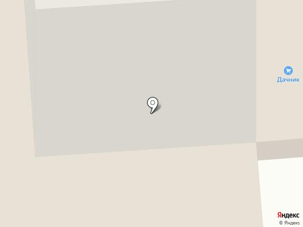 Дачник на карте Йошкар-Олы