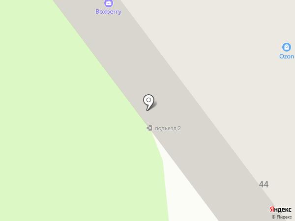 Кокетка на карте Йошкар-Олы