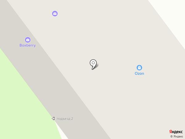 Городок на карте Йошкар-Олы