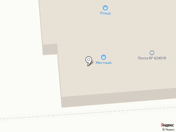Почтовое отделение №19 на карте Йошкар-Олы