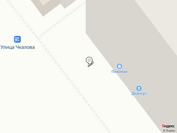 Морфей на карте Йошкар-Олы