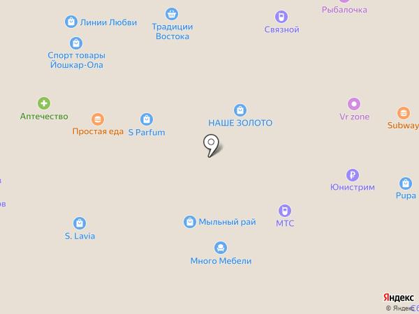 Orby на карте Йошкар-Олы