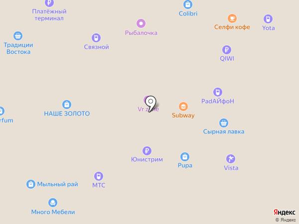 Песочница самоцветов на карте Йошкар-Олы