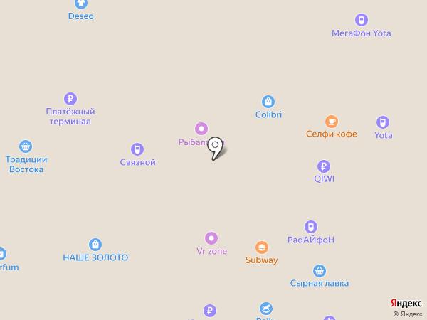 Легоша на карте Йошкар-Олы
