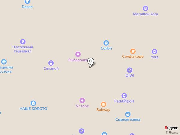 SUBWAY на карте Йошкар-Олы