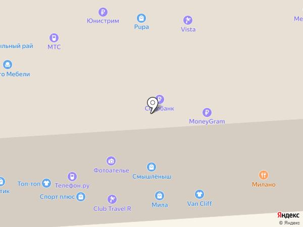 Архитектория на карте Йошкар-Олы