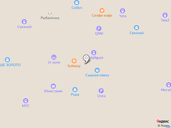 Polly на карте Йошкар-Олы