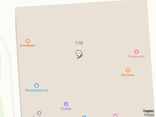 Бочонок на карте Йошкар-Олы