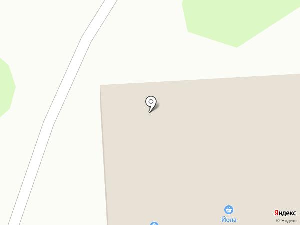 Красное & Белое на карте Йошкар-Олы