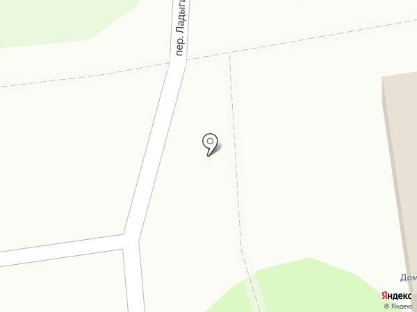 Домоуправление №10 на карте Йошкар-Олы