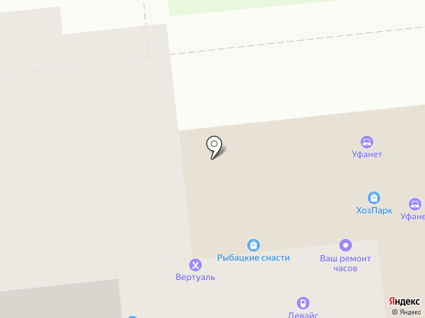 Парикмахерская на карте Йошкар-Олы