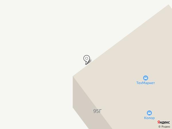 Ваяние на карте Йошкар-Олы