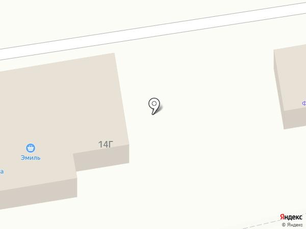 Магазин фейерверков на карте Йошкар-Олы