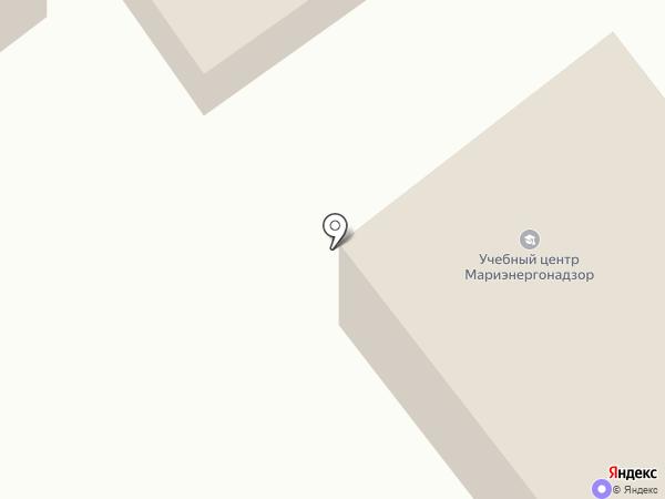 Центр12 на карте Йошкар-Олы