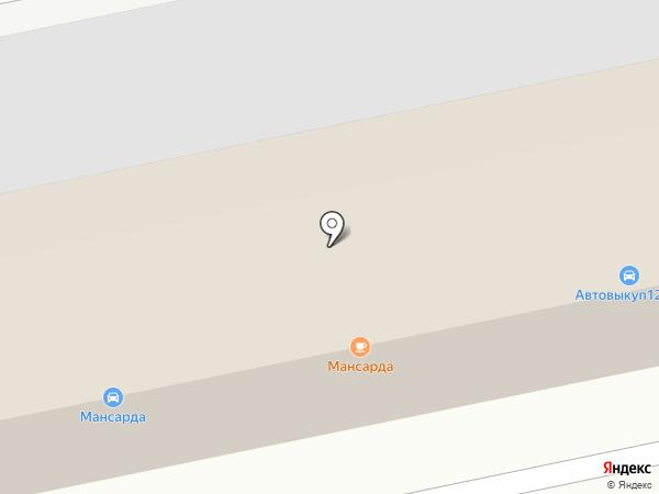 Автомойка на карте Йошкар-Олы