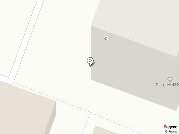 Почтовое отделение №20 на карте Йошкар-Олы