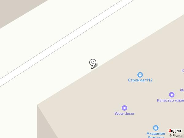 Аваш на карте Йошкар-Олы