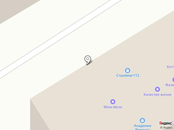 Технодекор на карте Йошкар-Олы