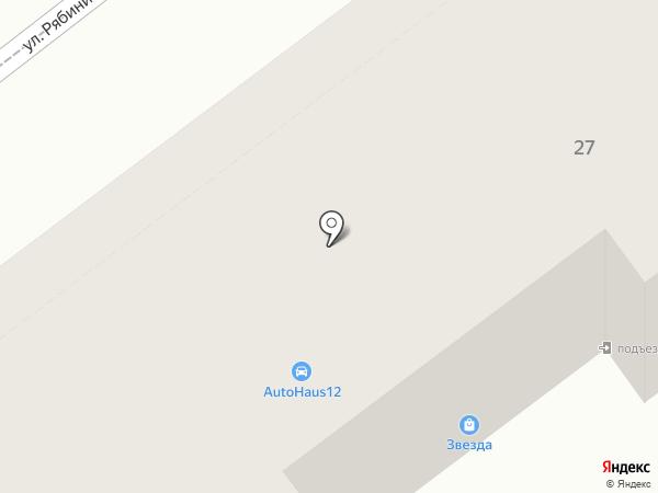 Ажур на карте Йошкар-Олы
