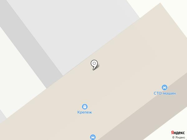 АвтоКолор на карте Йошкар-Олы
