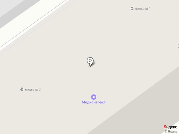 Лесторгсервис, ЗАО на карте Йошкар-Олы