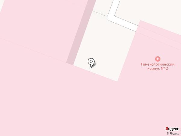 Перинатальный центр, ГБУ на карте Йошкар-Олы
