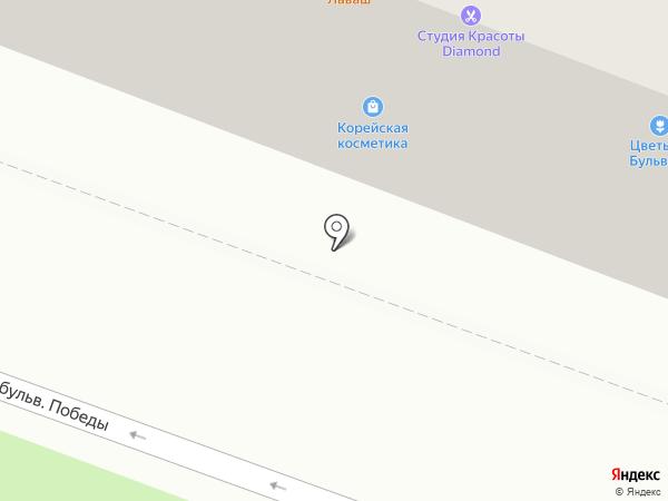 Модный бульвар на карте Йошкар-Олы