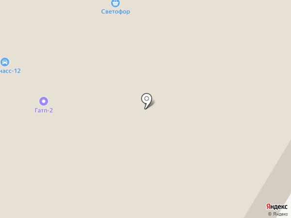 Светофор на карте Йошкар-Олы