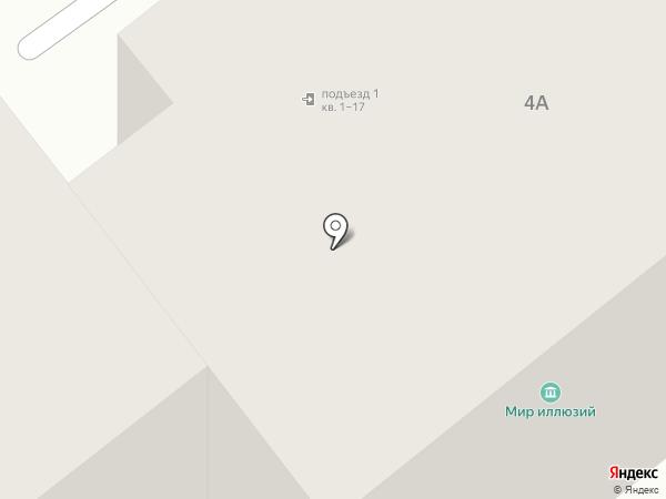 Мир иллюзий на карте Йошкар-Олы