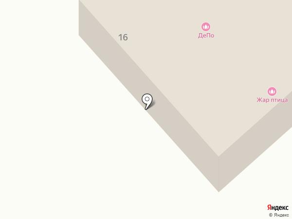 Депо на карте Йошкар-Олы